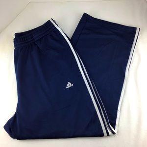 Adidas Athletic Track Pants Climalite Size X-Large
